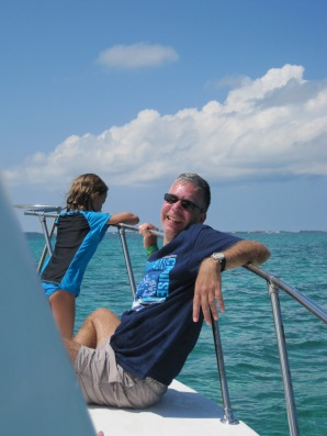 Relaxing on the Carnival Freedom