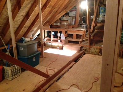 Winter 2015 Attic Project